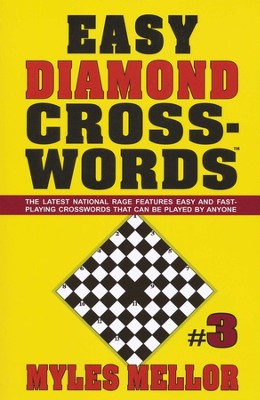 Easy Diamond Crosswords #3  -     By: Myles Mellor