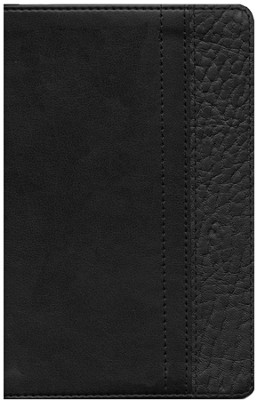 NIV ReadEasy Bible, Italian Duo-Tone, Black/Black  -