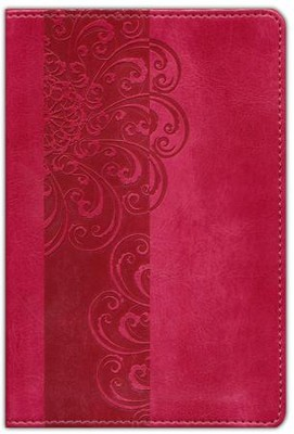 NIV Pocket Bible, Italian Duo-Tone, Razzleberry  -
