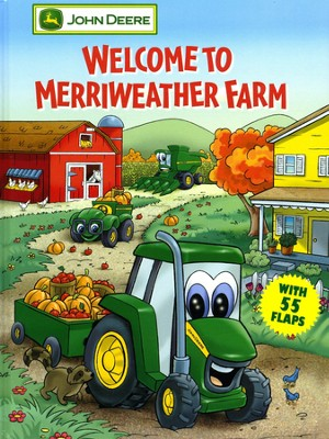 Welcome to Merriweather Farm: A Giant Lift-the-Flap Board Book   -