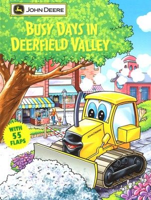 Busy Days in Deerfield Valley: A Giant Lift-the-Flap Board Book   -