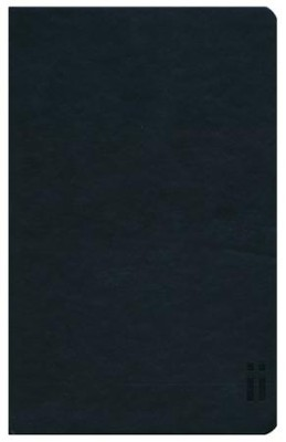 KJV Skinii Bible, Leather Bound, Black  -     By: Zondervan
