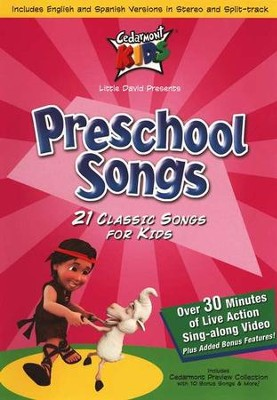 Preschool Songs on DVD   -     By: Cedarmont Kids
