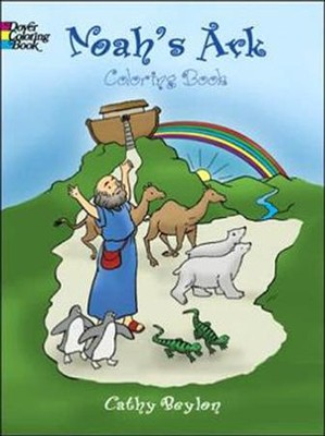 Noah's Ark Coloring Book  -     By: Cathy Beylon