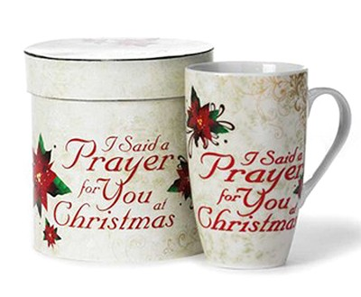 I Said a Prayer at Christmas Mug  -