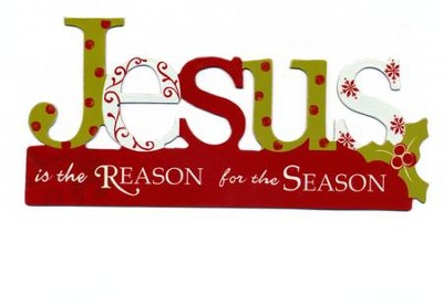 Jesus is the Reason for the Season Auto Magnet  -