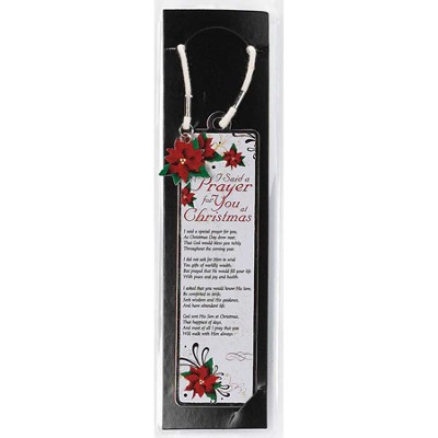 I Said a Prayer for You at Christmas Bookmark  -