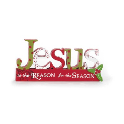 Jesus is the Reason for the Season Plaque  -
