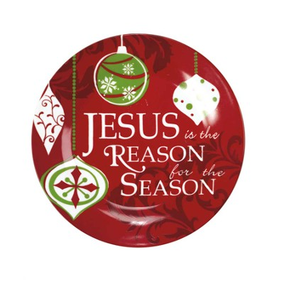 Jesus is the Reason for the Season Plate  -