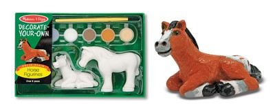 Horse Figurines, Decorate Your Own  -