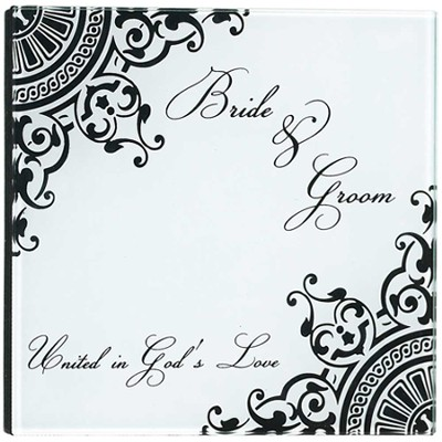Bride & Groom, United in God's Love Photo Album  -