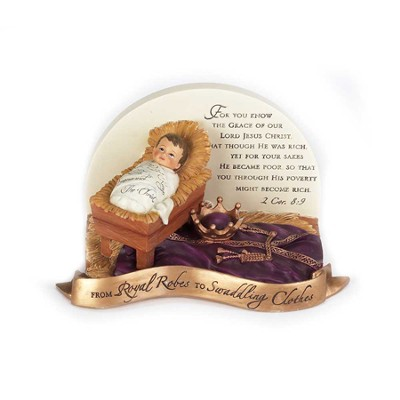 From Royal Robes to Swaddling Clothes Figurine  -
