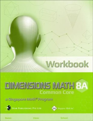 Dimensions Mathematics Workbook 8A (Common Core State Standards Edition)   -