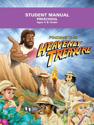 Heavenly Treasure VBS Preschool Student Manual  -