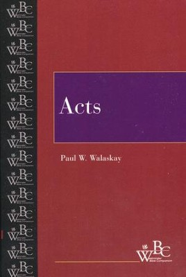 Westminster Bible Companion: Acts   -     By: Paul Walaskay