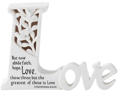 Love Tabletop Plaque  -
