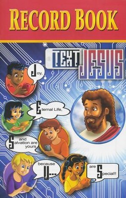 Text Jesus VBS Record Book  -