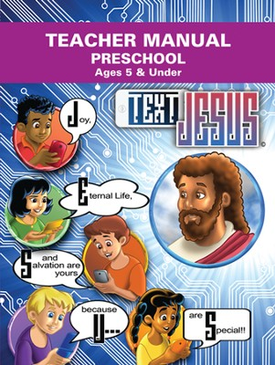 Text Jesus VBS Preschool Teacher Manual  -