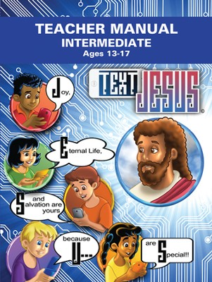 Text Jesus VBS Intermediate Teacher Manual  -