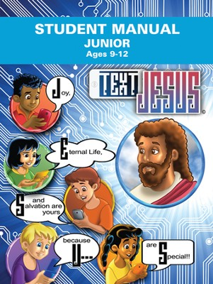 Text Jesus VBS Junior Student Manual  -
