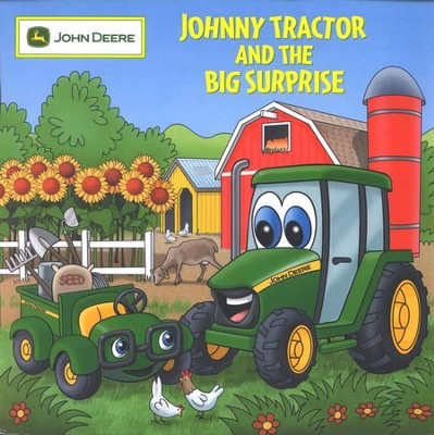 Johnny Tractor and the Big Surprise   -     By: Judy Katschke