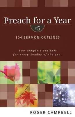 Preach for a Year, Vol. 5   -