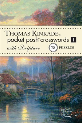 Pocket Crosswords with Scripture, Thomas Kinkade Artwork  -     By: Thomas Kinkade