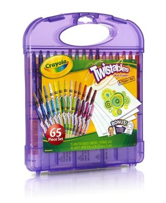 Crayola, Mini Twistables Crayola and Paper Set  -