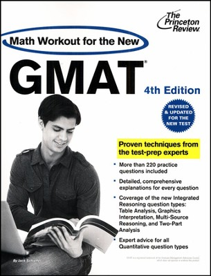 Math Workout for the New GMAT, 4th Edition: Revised and Updated for the New GMAT  -     By: Princeton Review