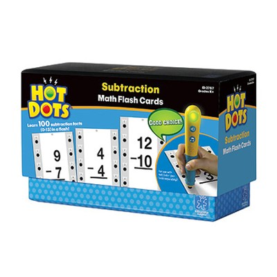 Hot Dots Subtraction Flash Cards (0-13)   -