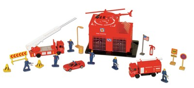 Fire Station Play Set  -