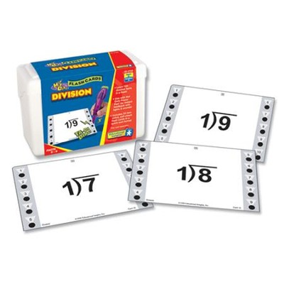 Hot Dots Division Flash Cards   -