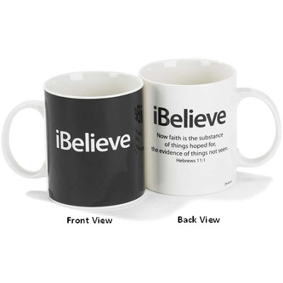 iBelieve, Hebrew 11:1 Mug  -