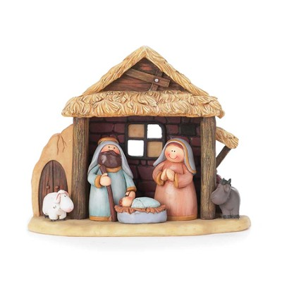 Nativity, Set of 12 Pieces  -