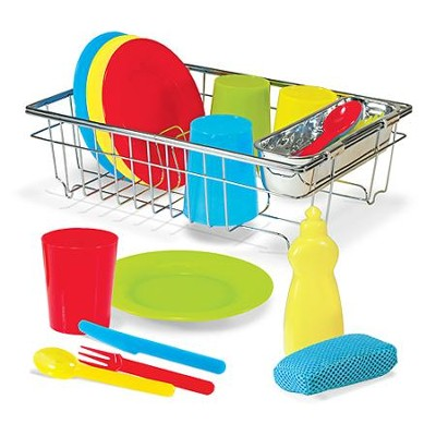 Let's Play House, Wash and Dry Dish Set   -