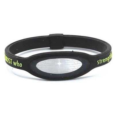 iPower Bracelet, Black, Medium  -