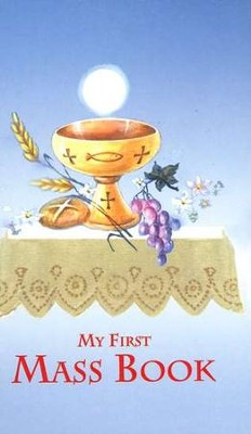 First Mass Book, Eucharist Edition for Boys     -