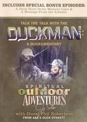 Talk the Talk with the Duckman DVD: A Duckumentary  -     By: Jimmy Sites, Phil Robertson