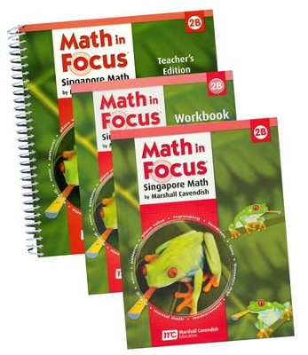 Math in Focus: The Singapore Approach Grade 2 Second Semester Homeschool Package  -