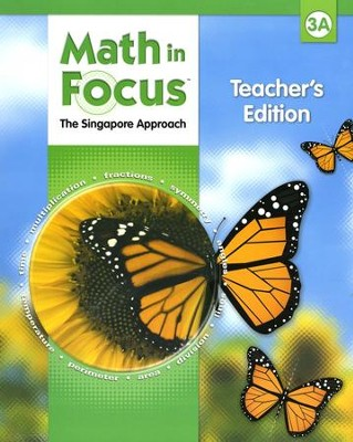 Math in Focus: The Singapore Approach Grade 3 First Semester Homeschool Package  -