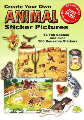 Create Your Own Animal Sticker Pictures  -