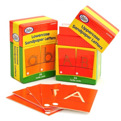 Sandpaper Upper & Lower Case Set  -