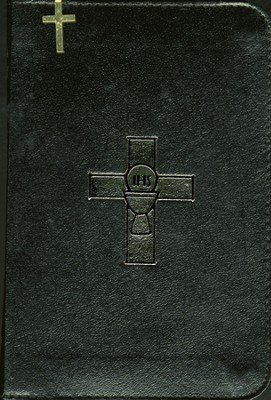 Weekday Missal, Volume 1, Bonded Leather, Black, Zipper   -