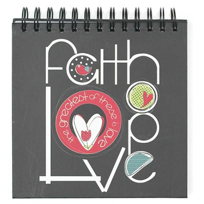 Faith, Love, Hope Journal  -     By: Amylee Weeks