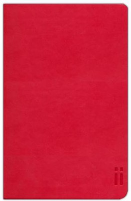 NIV Skinii Bible, Italian Duo-Tone, Red  -     By: Zondervan