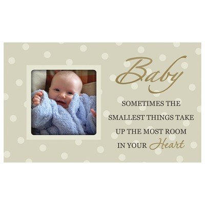 Baby, Sometimes the Smallest Things, Photo Frame  -