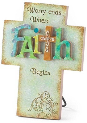 Faith Cross, Worry Ends Here  -