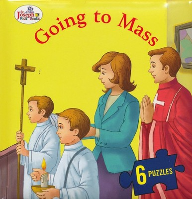 Going to Mass, St. Joseph Beginner Puzzle Book  -     By: Thomas J. Donaghy