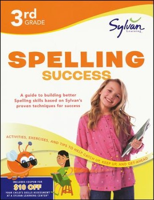 Third Grade Spelling Success (Sylvan Workbooks)  -     By: Sylvan Learning