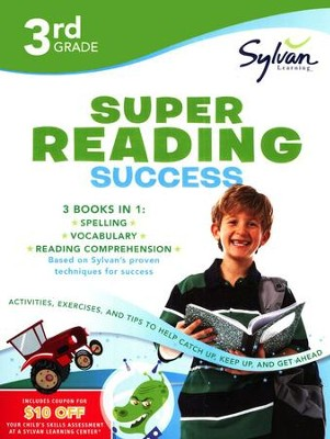 Third Grade Super Reading Success (Sylvan Super Workbooks)  -     By: Sylvan Learning